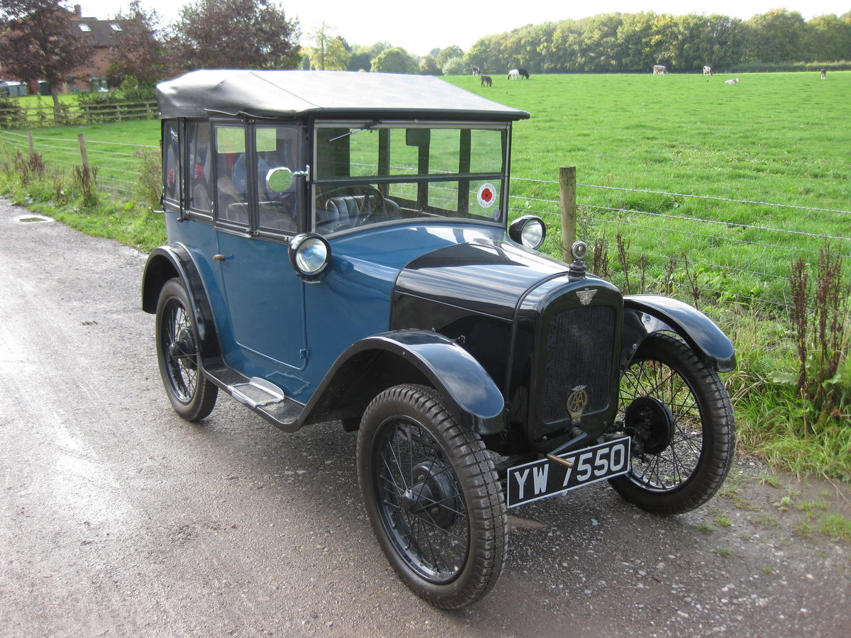 1928 Austin Seven Chummy For Sale (picture 1 of 3)