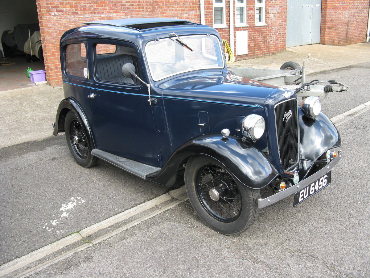 1937 Austin 7 Ruby Mk2 with sunroof. SOLD (picture 1 of 6)