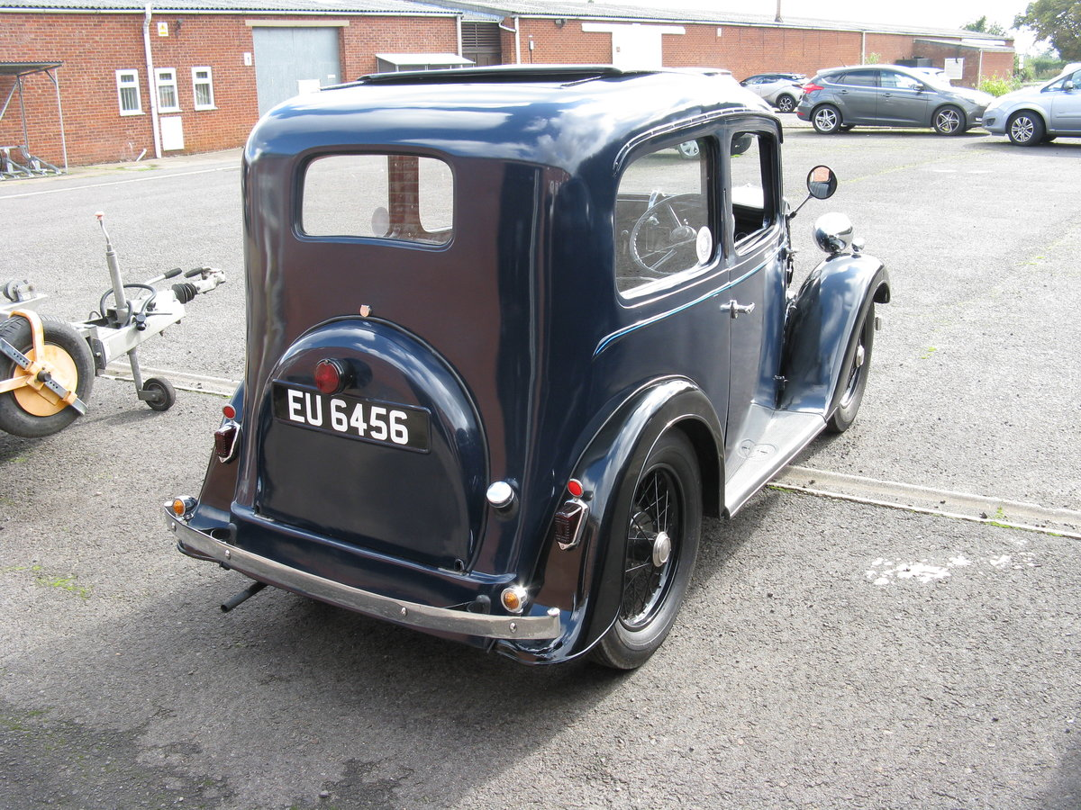 1937 Austin 7 Ruby Mk2 with sunroof. SOLD (picture 2 of 6)