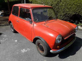 1978 Austin Mini 998 Project For Sale
