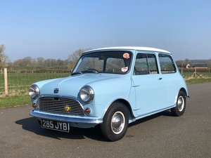 1960 Austin Mini Seven Super Deluxe SOLD
