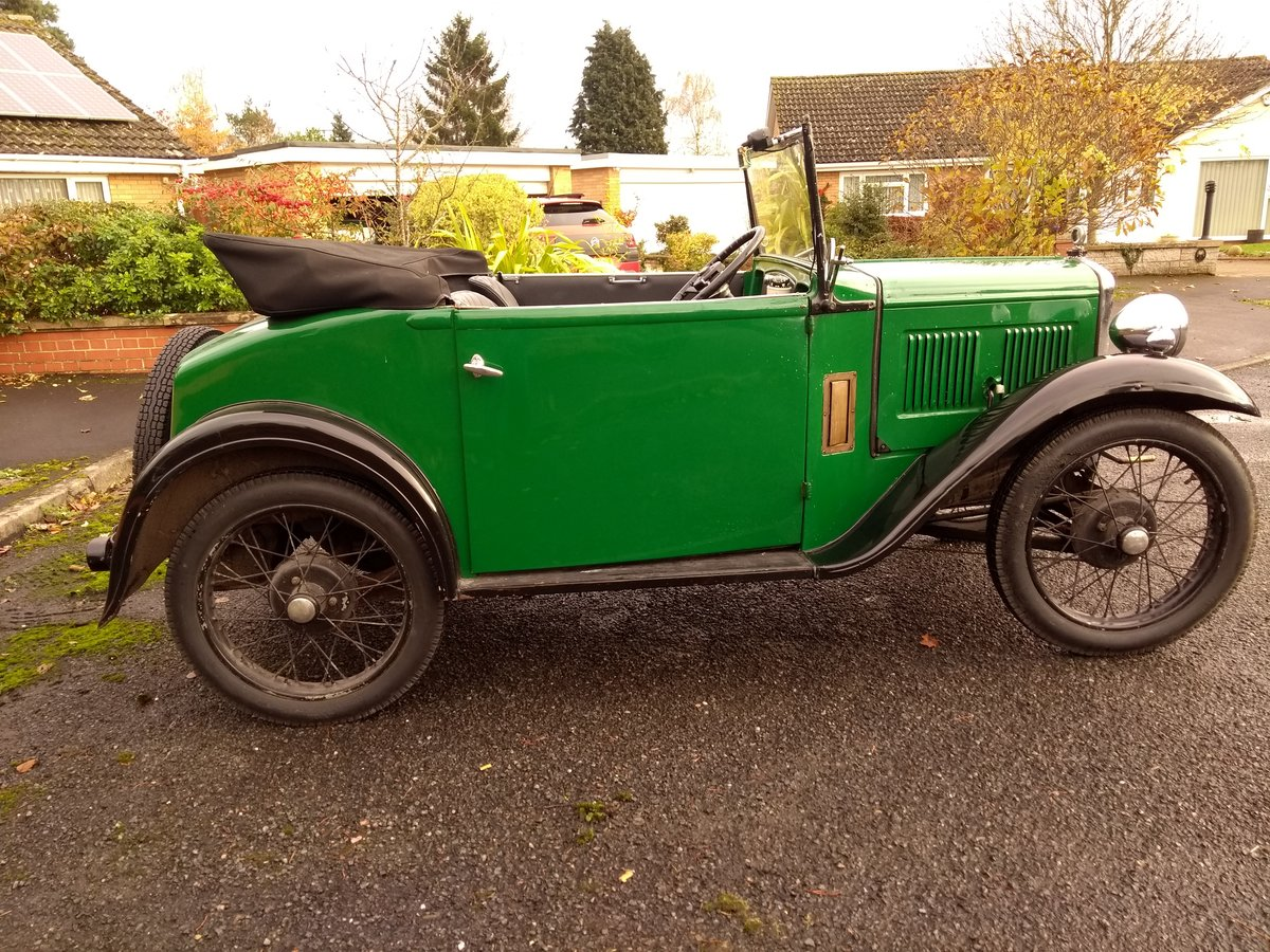 1935 Seven Opal Two Seater Tourer  SOLD (picture 3 of 6)