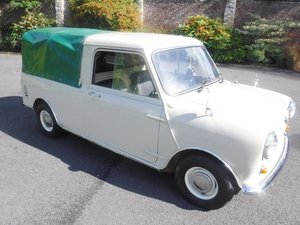 **NOVEMBER AUCTION** 1982 Austin Mini Pick-Up