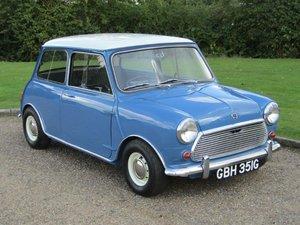 1968 Austin Mini Cooper MKII at ACA 2nd November  For Sale