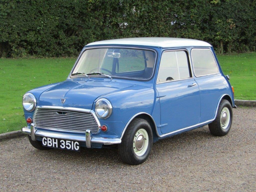 1968 Austin Mini Cooper MKII at ACA 2nd November  For Sale (picture 2 of 6)