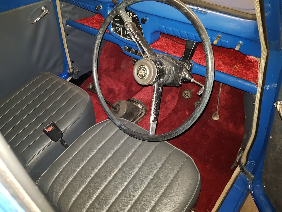 1958 Austin A35 Saloon in Blue For Sale (picture 5 of 6)
