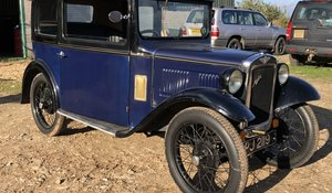 1931 Austin 7 Box Saloon For Sale by Auction