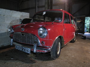 Austin Seven Mini De-Luxe Barn Find September 1959