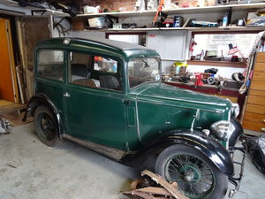 1935 Austin 7 Ruby Saloon  For Sale