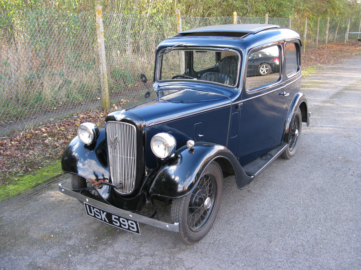 1938 Austin 7 Ruby Mk2 with sunroof SOLD (picture 1 of 6)