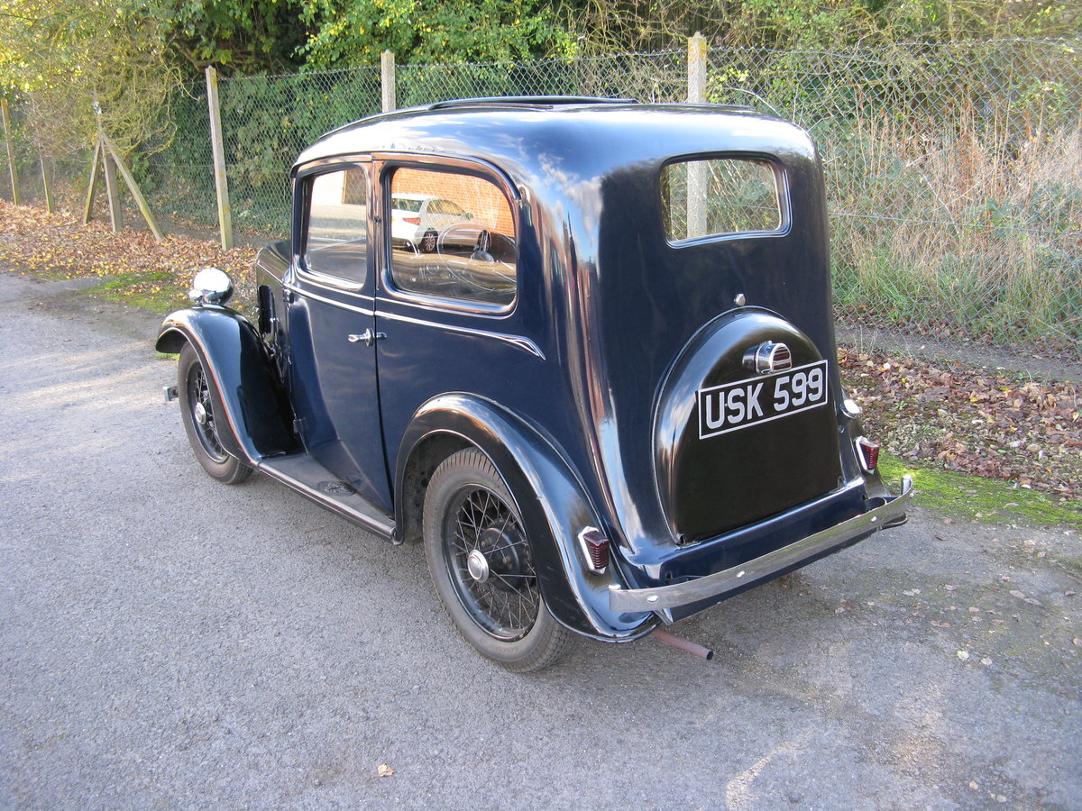 1938 Austin 7 Ruby Mk2 with sunroof SOLD (picture 2 of 6)