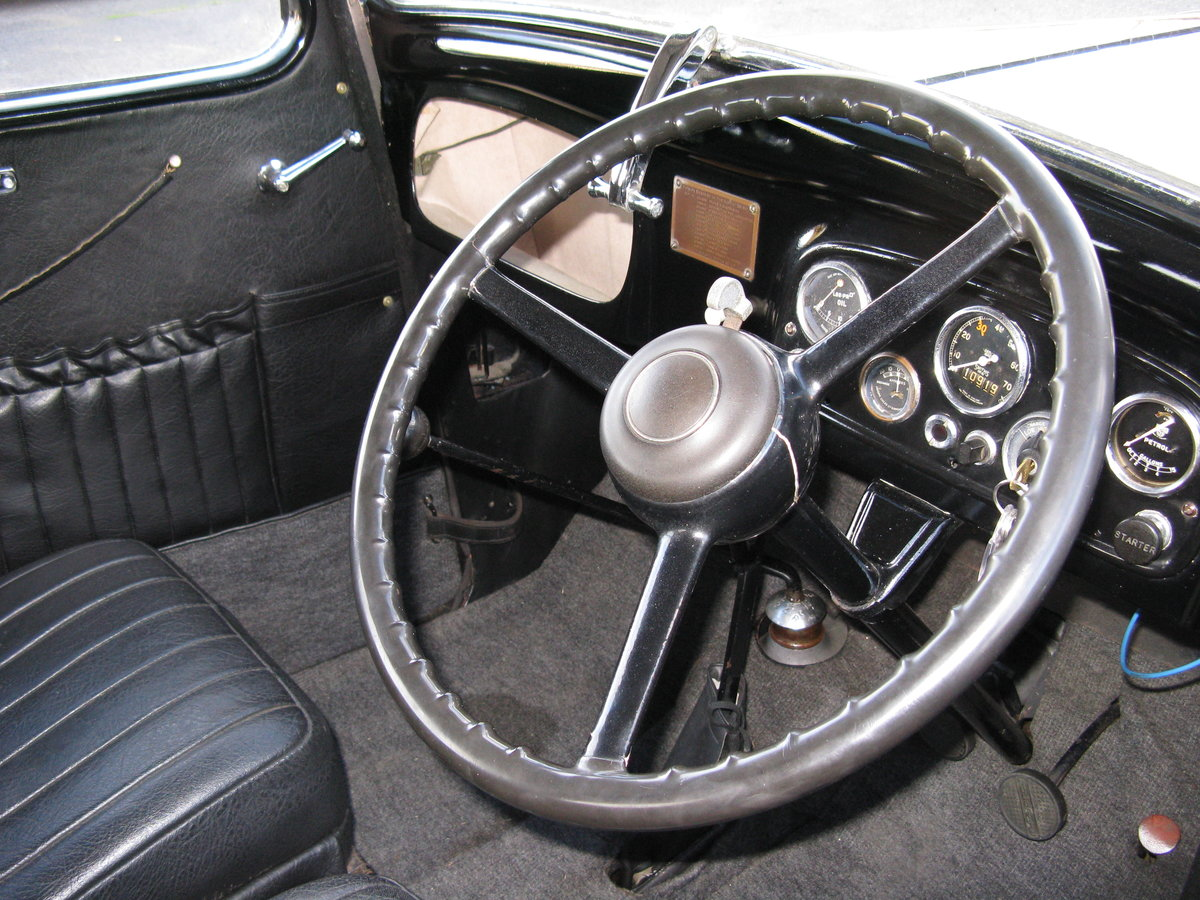 1938 Austin 7 Ruby Mk2 with sunroof SOLD (picture 6 of 6)