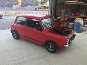 1973 Mini 1275 GTS. Fantastic solid project  For Sale
