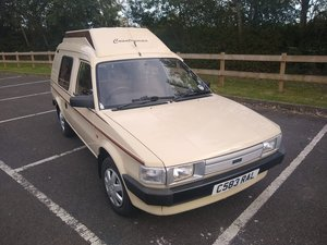 1986 Austin Maestro 500 L Countryman Camper Van SOLD by Auction