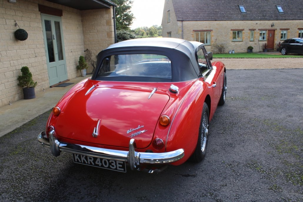 1966 AUSTIN HEALEY 3000 MK3 BJ8 PHASE 2 For Sale (picture 2 of 20)