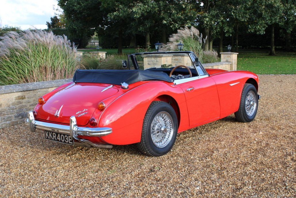 1966 AUSTIN HEALEY 3000 MK3 BJ8 PHASE 2 For Sale (picture 4 of 20)