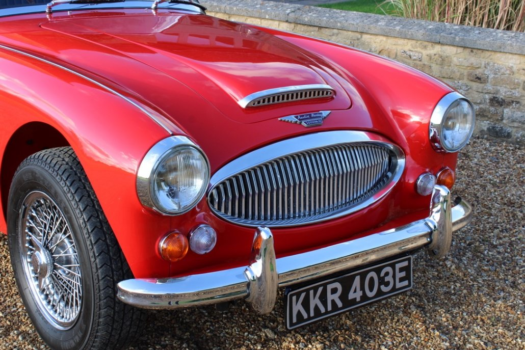 1966 AUSTIN HEALEY 3000 MK3 BJ8 PHASE 2 For Sale (picture 6 of 20)