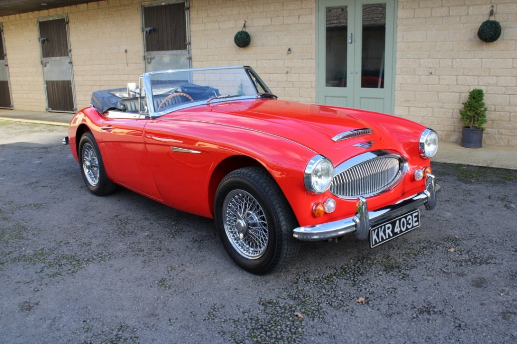 1966 AUSTIN HEALEY 3000 MK3 BJ8 PHASE 2 For Sale (picture 11 of 20)
