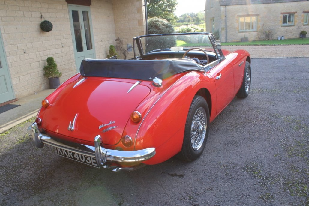 1966 AUSTIN HEALEY 3000 MK3 BJ8 PHASE 2 For Sale (picture 12 of 20)