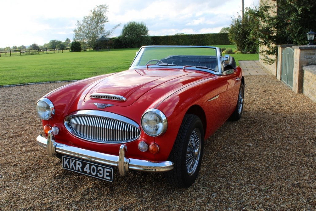 1966 AUSTIN HEALEY 3000 MK3 BJ8 PHASE 2 For Sale (picture 13 of 20)