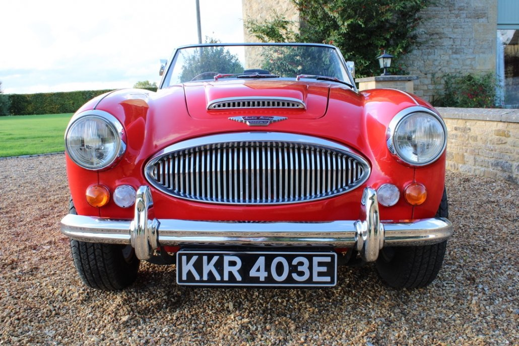 1966 AUSTIN HEALEY 3000 MK3 BJ8 PHASE 2 For Sale (picture 15 of 20)