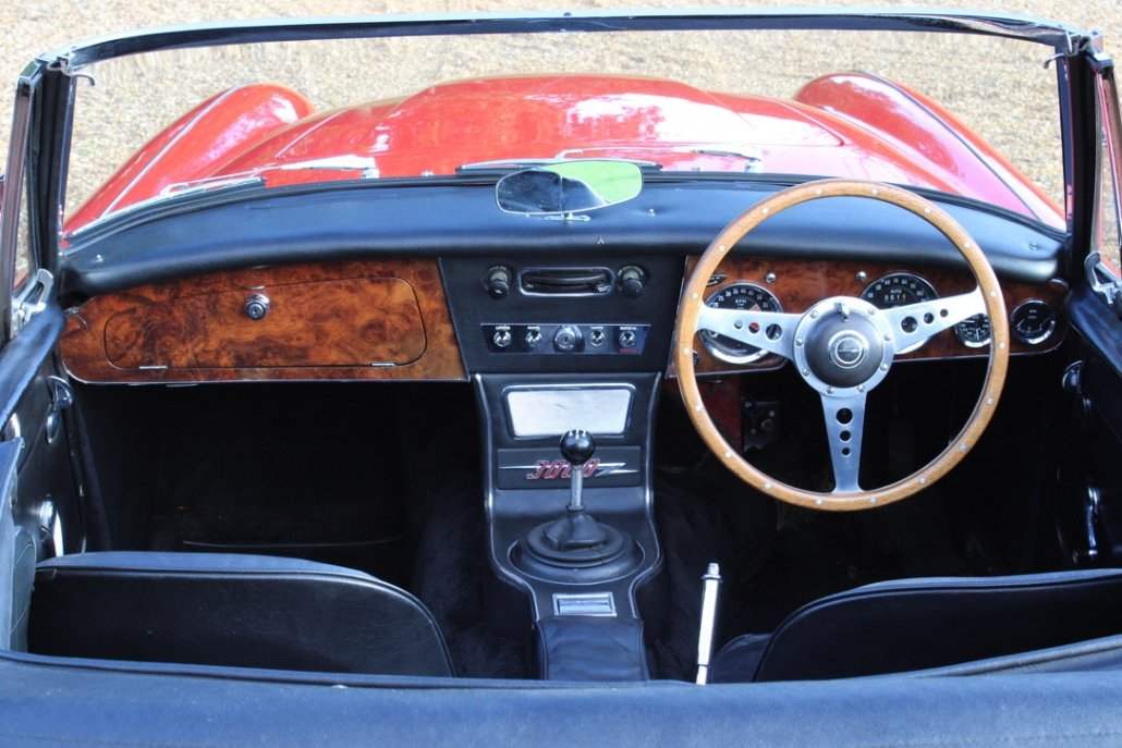 1966 AUSTIN HEALEY 3000 MK3 BJ8 PHASE 2 For Sale (picture 16 of 20)
