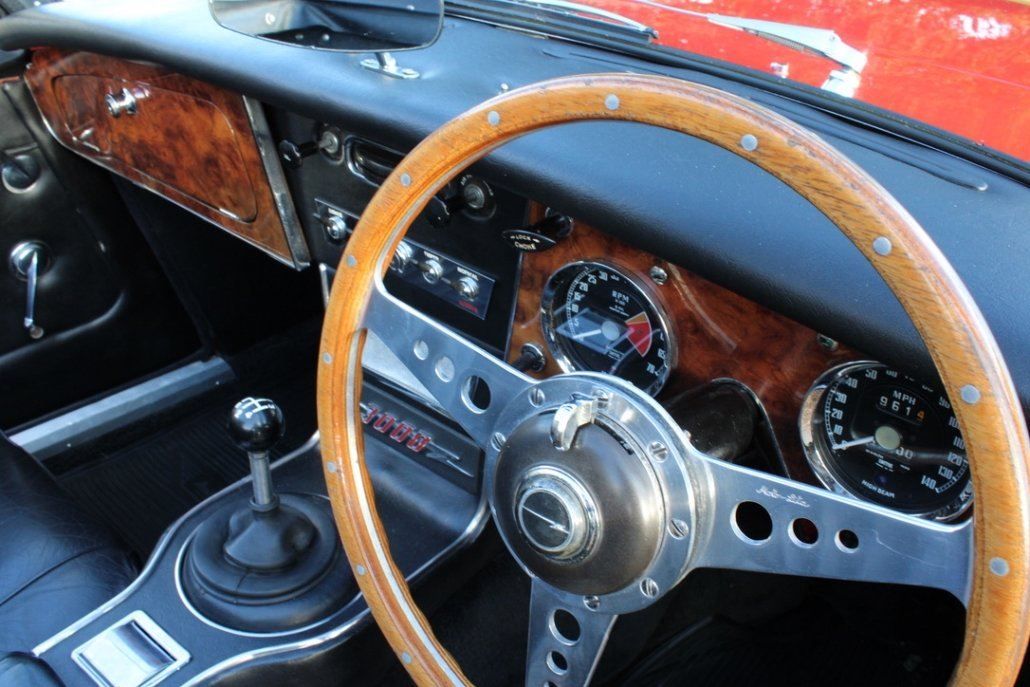 1966 AUSTIN HEALEY 3000 MK3 BJ8 PHASE 2 For Sale (picture 20 of 20)