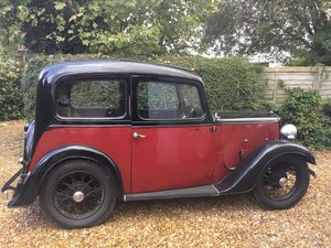 LOT 20: A 1935 Austin Seven Ruby saloon - 03/11/19