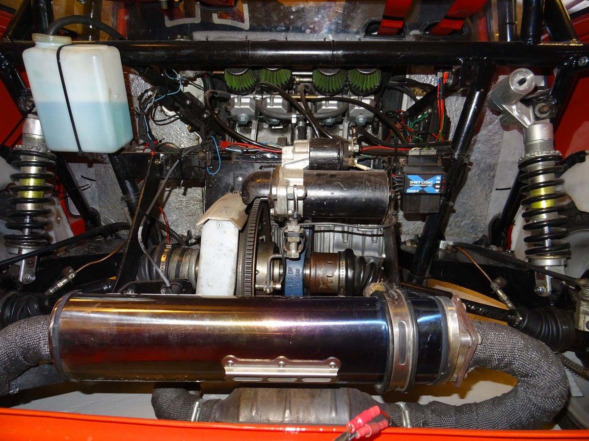 1984 Austin Mini Cooper with Honda CBR1000F engine For Sale (picture 5 of 6)