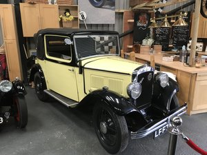 1933 Austin Ten Cabriolet  For Sale