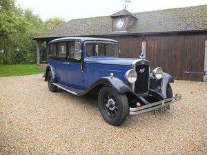 1934 Austin 20 Ranelagh Limousine