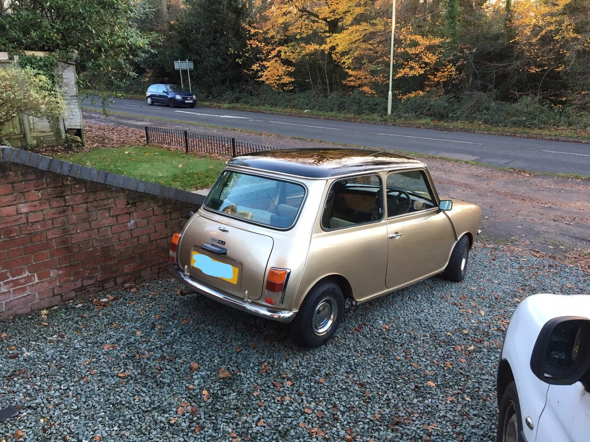 1983 Mini Clubman classic 1275cc from South Africa For Sale (picture 1 of 6)