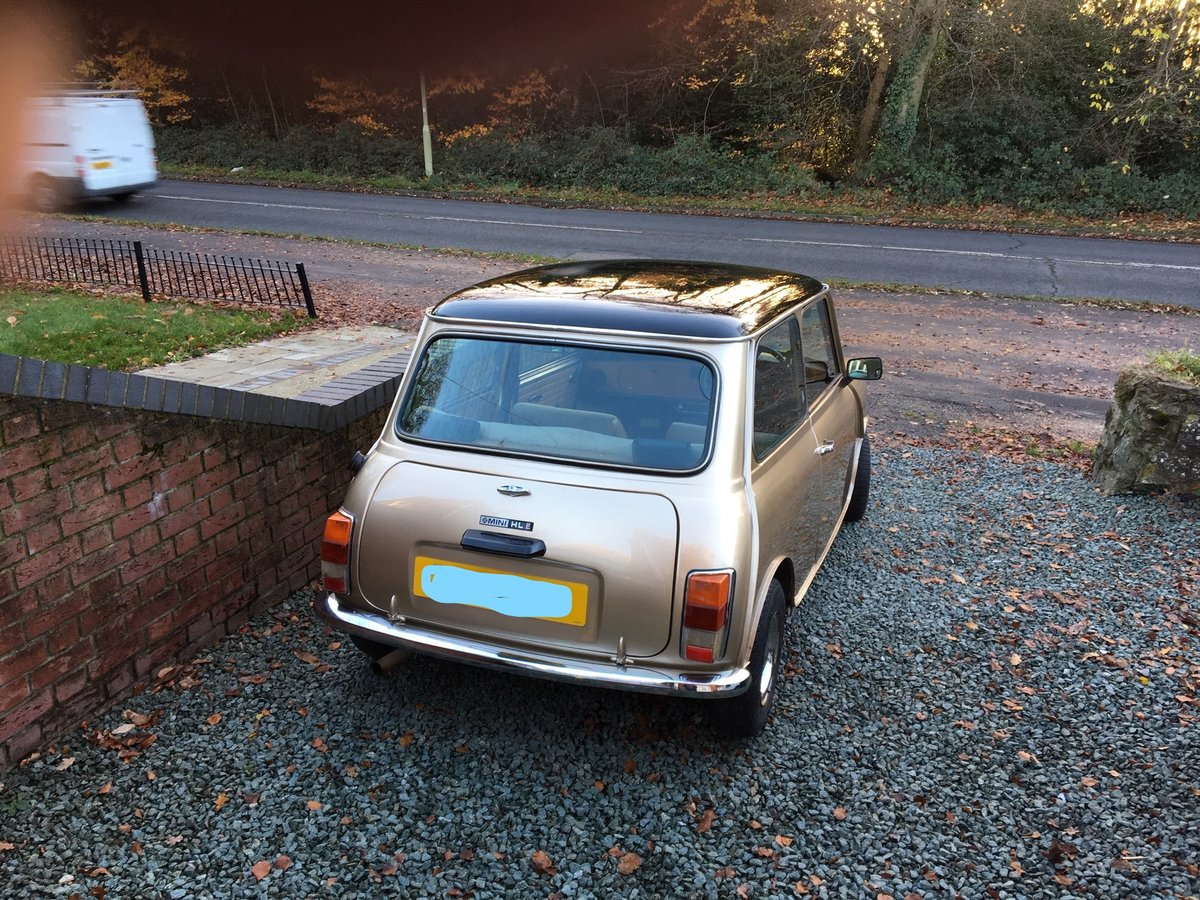 1983 Mini Clubman classic 1275cc from South Africa For Sale (picture 2 of 6)