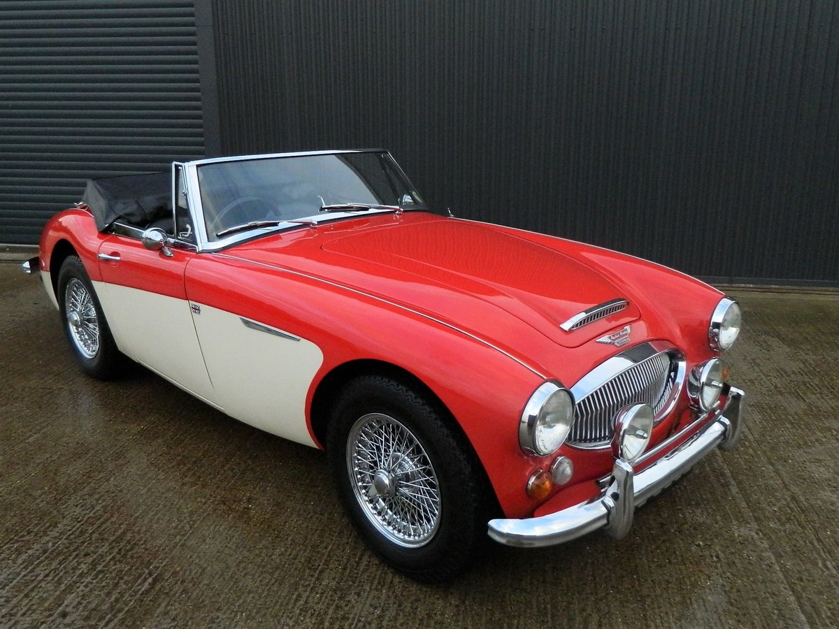 1967 AUSTIN HEALEY 2.9 3000 MKIII For Sale (picture 1 of 6)