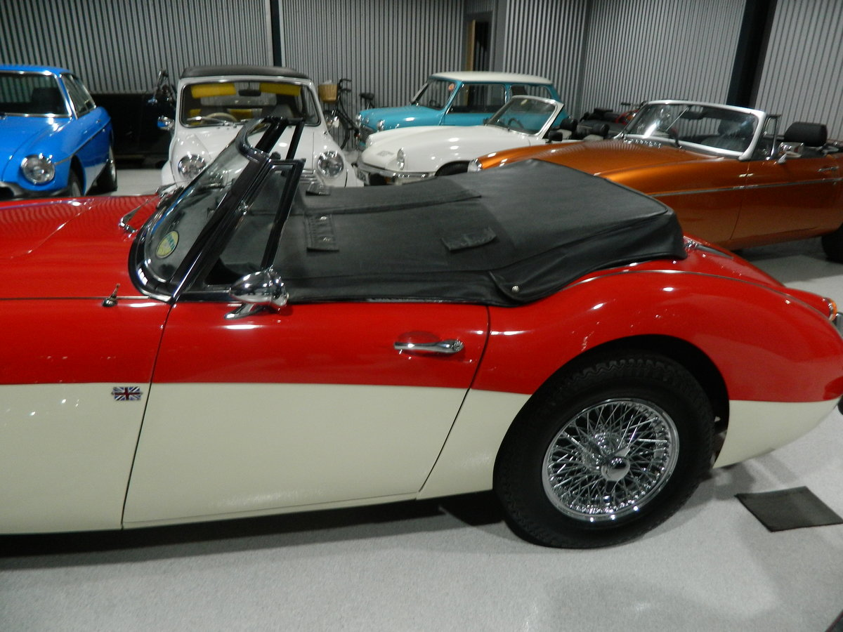 1967 AUSTIN HEALEY 2.9 3000 MKIII For Sale (picture 3 of 6)