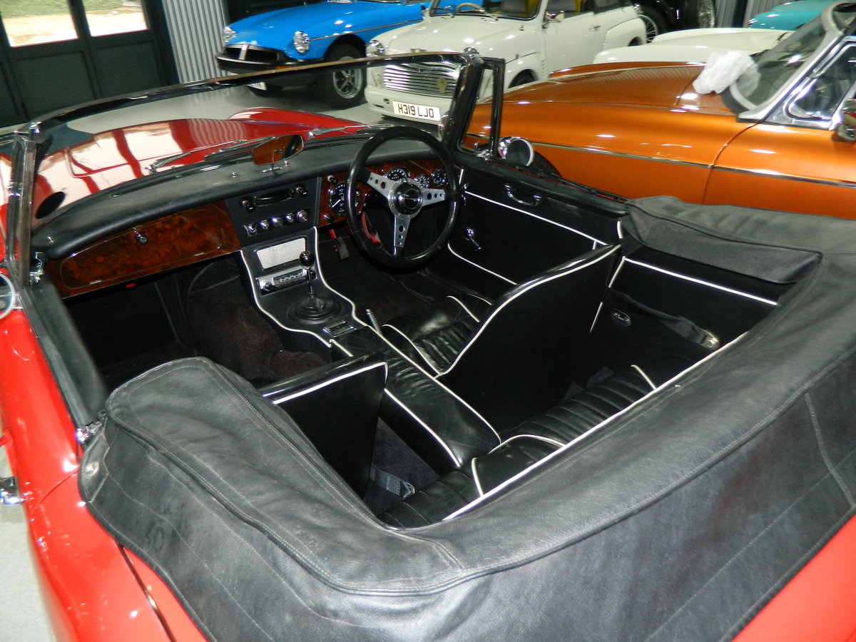 1967 AUSTIN HEALEY 2.9 3000 MKIII For Sale (picture 5 of 6)