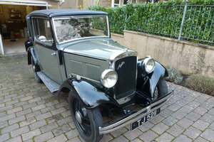 1934 Austin 10/4 chrome rad