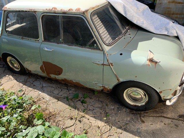 1968 Austin Mini Cooper MK2 RHD BarnFind  SOLD (picture 2 of 6)