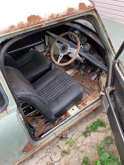 1968 Austin Mini Cooper MK2 RHD BarnFind  SOLD (picture 4 of 6)
