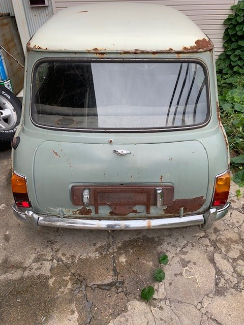 1968 Austin Mini Cooper MK2 RHD BarnFind  SOLD (picture 6 of 6)