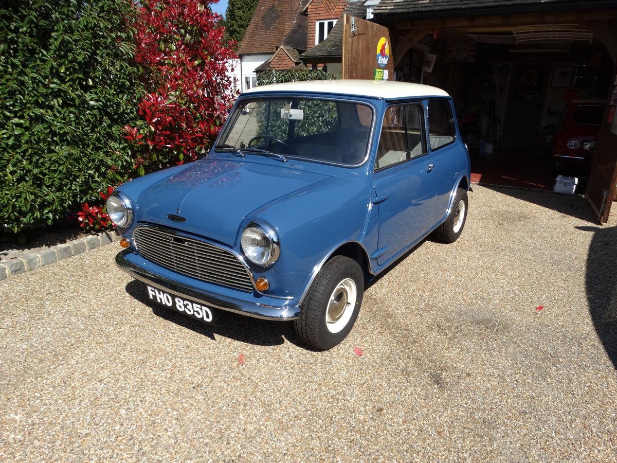 1966 Austin Mini Cooper 'S' Mk1 For Sale (picture 2 of 6)