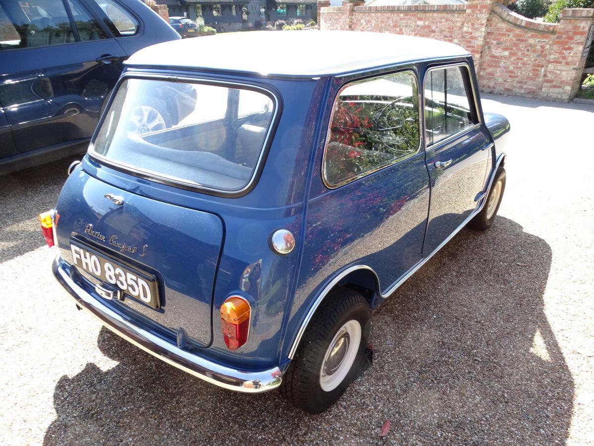 1966 Austin Mini Cooper 'S' Mk1 For Sale (picture 5 of 6)