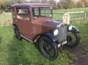 Austin 7 fabric bodied saloon
