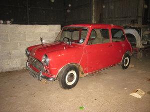 Austin Seven Mini De-Luxe Barn Find September 1959