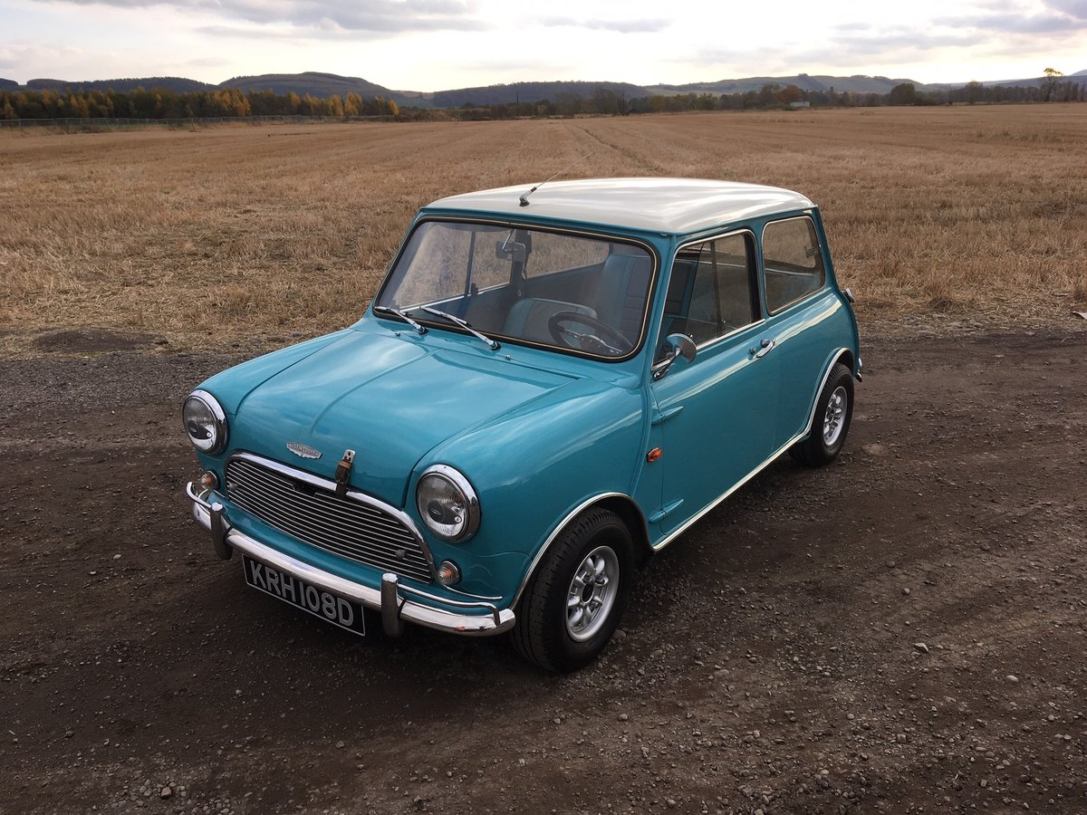1966 Austin Mini Cooper For Sale by Auction (picture 2 of 5)