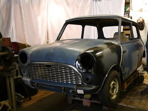 1966 Austin Mini Mk1 Restoration Project For Sale