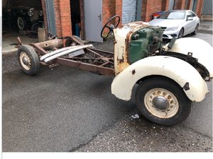 1938 Pre War Austin  18.   18/6 Rolling Chassis With V5