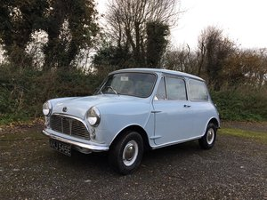 1967 Austin Mini Mk1 1000 Unleaded For Sale