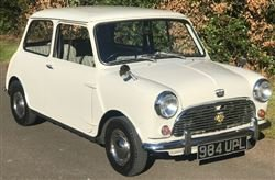 1961 Seven Mini - Tuesday 10th December 2019 For Sale by Auction