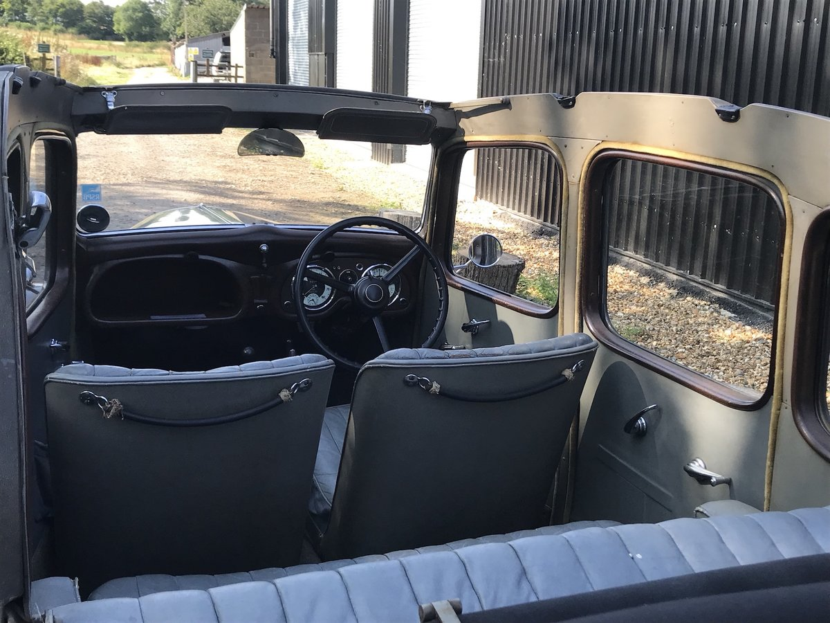 1938 Austin Ten Conway Cabriolet For Sale (picture 2 of 15)